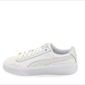 Let her and lace puma sneakers